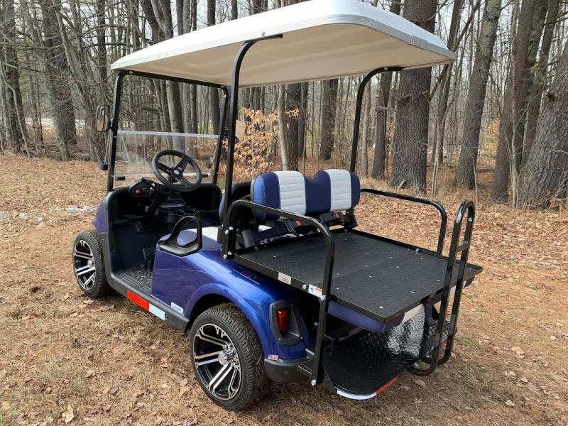 2020 Mid-South LSV 25MPH Street Legal 4 pass golf cart-Electric Blue