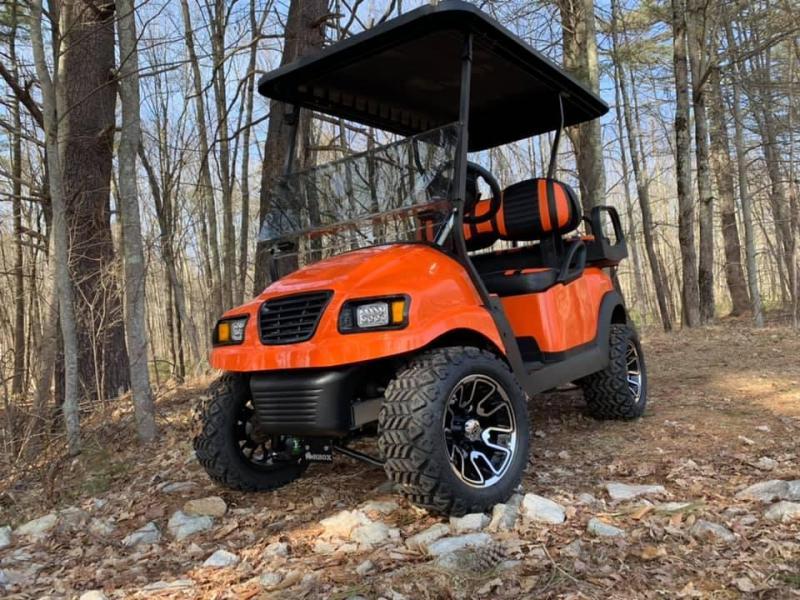Metallic Orange Phantom Club Car Precedent Harley Davidson CUSTOM NICE!