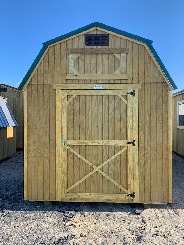 Brand NEW Old Hickory Lofted Barn 8' x 12' Hunter Green Roof