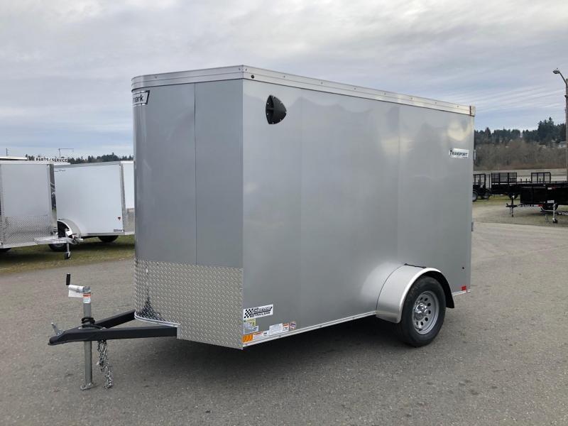 Haulmark 6' X 10' Transport V-Nose Enclosed Cargo Trailer