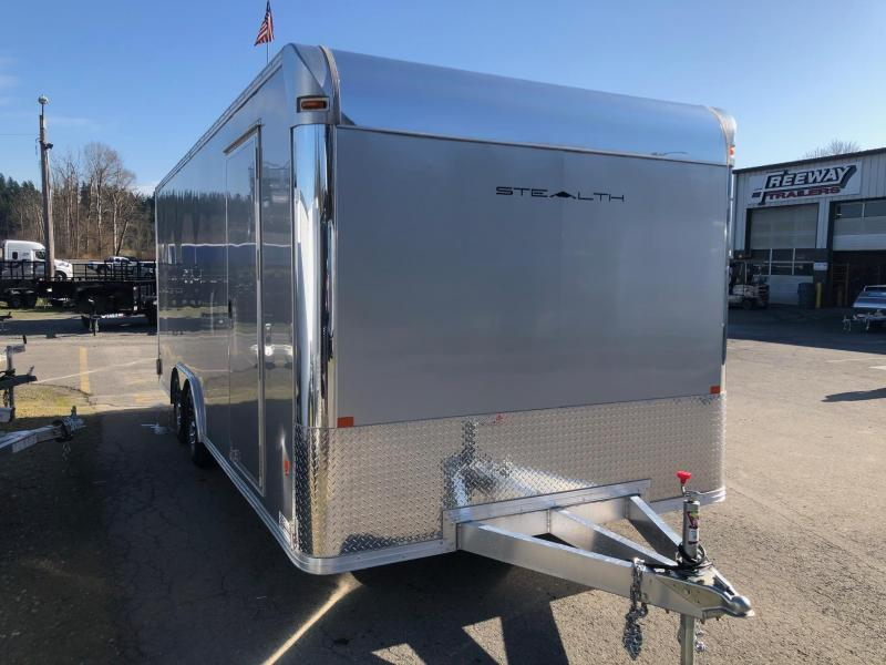 2019 Alcom-Stealth 8.5' X 20' Stealth Car Hauler Car / Racing Trailer