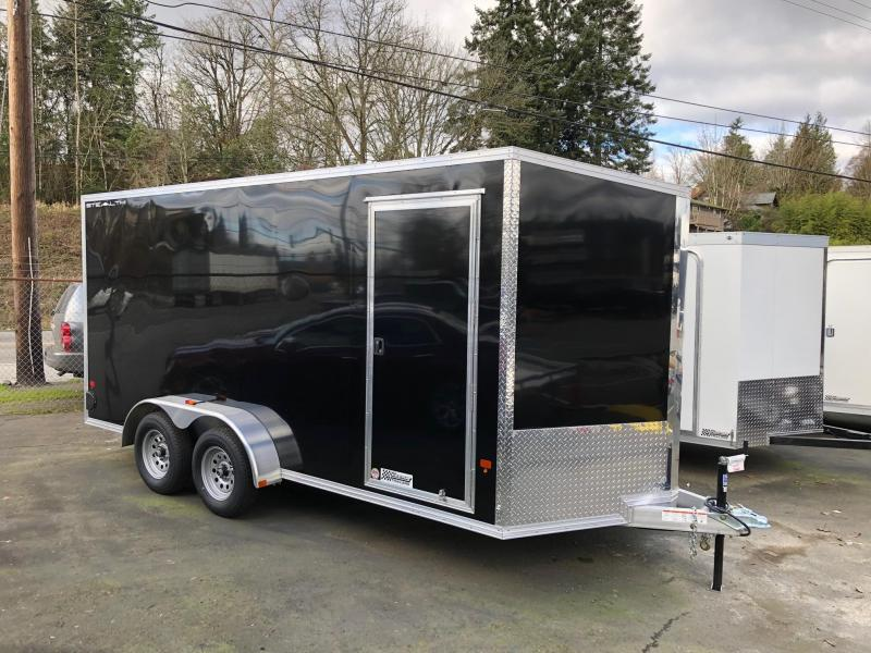 2020 Alcom-Stealth 7' X 16' Stealth Enclosed Cargo Trailer
