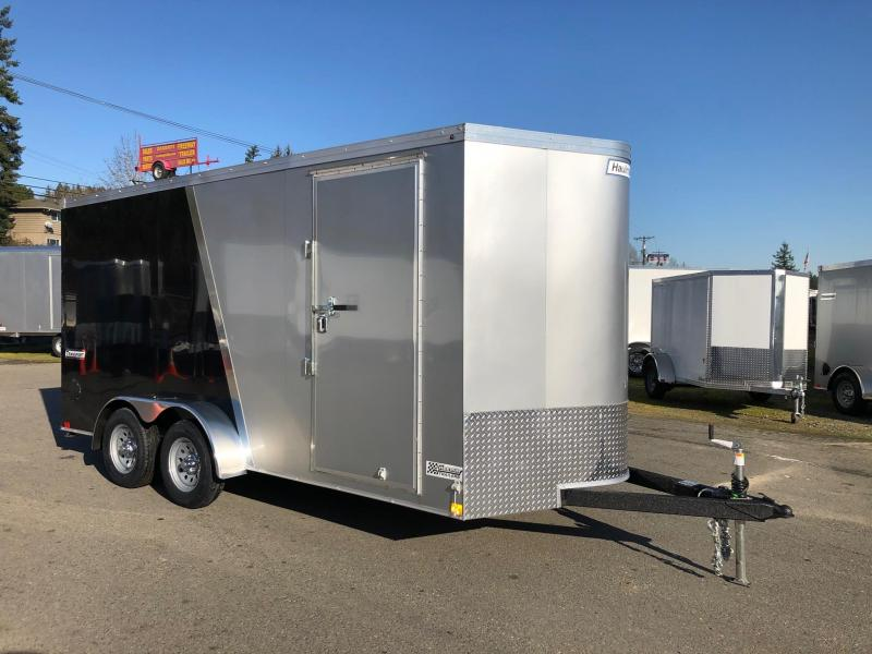 2020 Haulmark 7' X 16' Transport V-Nose Enclosed Cargo Trailer