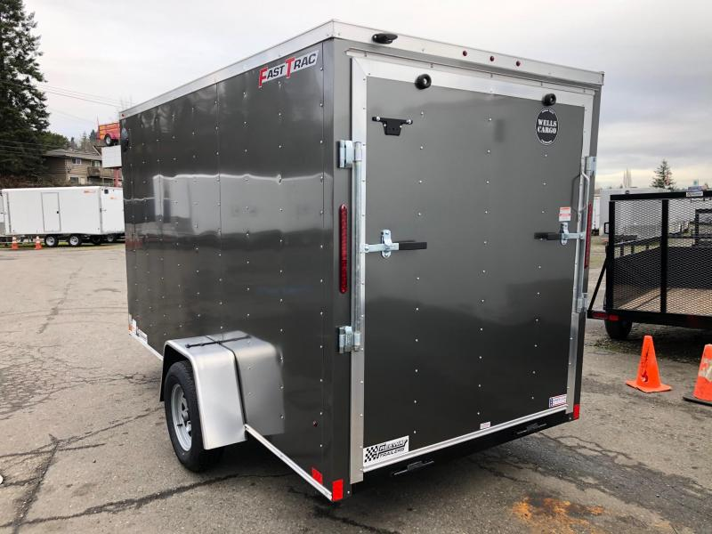 Wells Cargo Fast Trac Deluxe 6' X 10' Enclosed Cargo Trailer