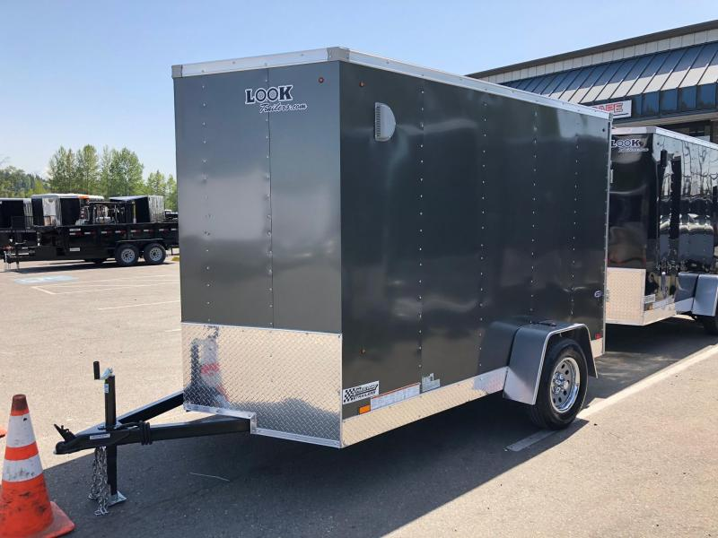 2021 Look Trailers ST 6' X 12' Enclosed Cargo Trailer
