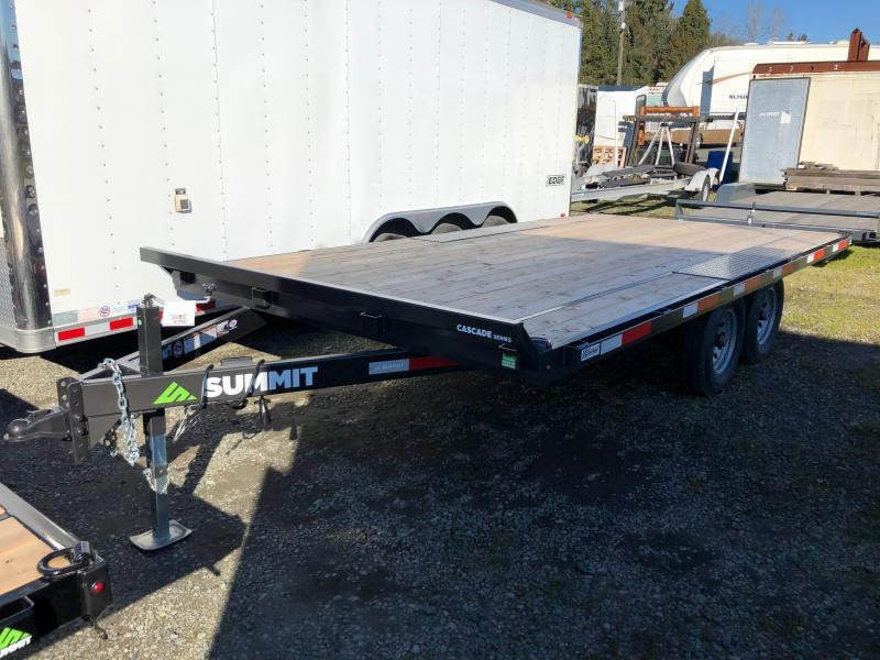 2020 Summit 8.5' X 16' Cascade Deckover Flatbed Trailer