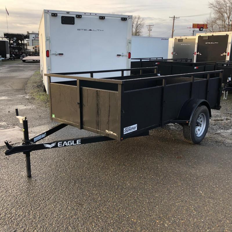 2020 Eagle Trailer 5' X 10' Falcon Lightspeed Utility Trailer