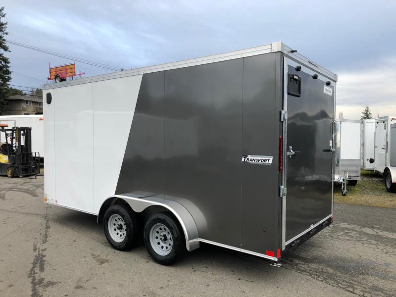 Haulmark 7' x 16' V-Front Transport Enclosed Cargo Trailer