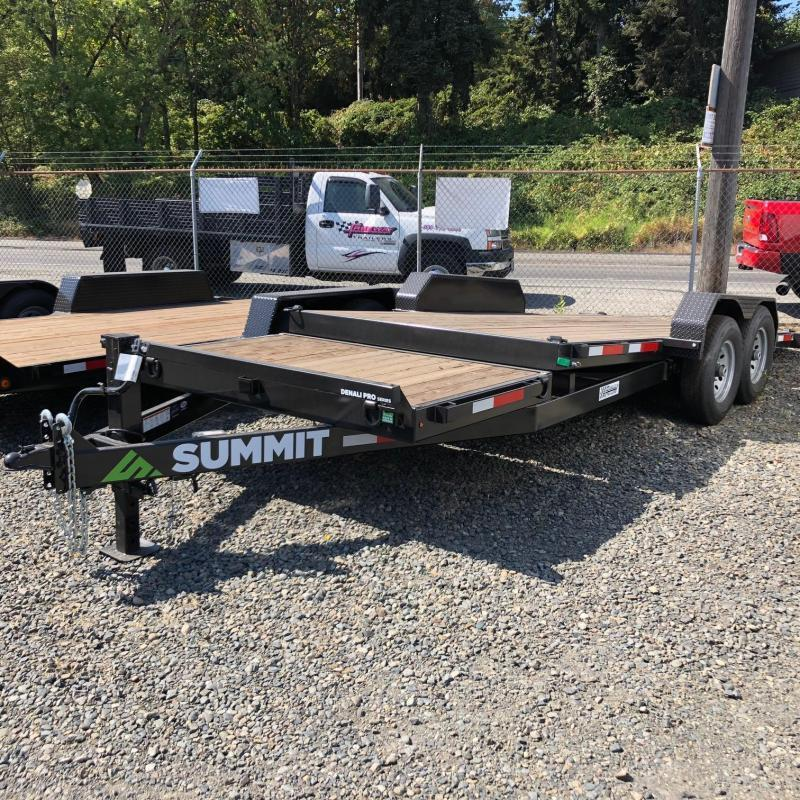 2020 Summit 7' X 20' Denali Pro Split Tilt Flatbed Trailer