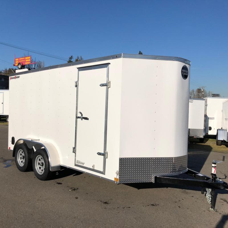 2020 Wells Cargo 7' X 16' FastTrac Enclosed Cargo Trailer