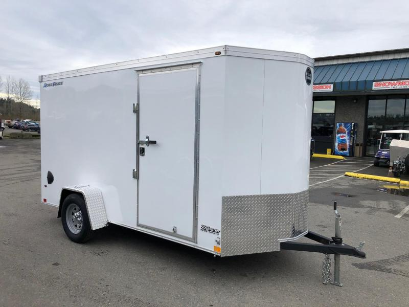 2020 Wells Cargo 6' x 12' V-Nose Road Force Enclosed Cargo Trailer