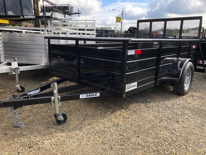 Eagle Trailer 5' X 10' Eagle Ultra Deluxe Utility Trailer