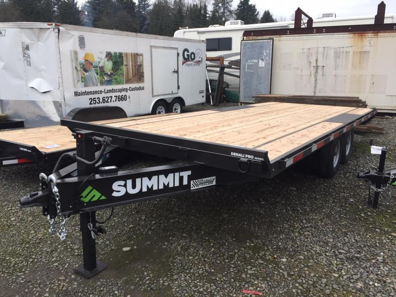 Summit DENALI PRO 8.5' X 20' DPDO8520TA5 Flatbed Trailer