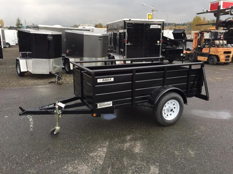 2020 Eagle Trailer 5' X 10' Eagle Lightspeed Utility Trailer