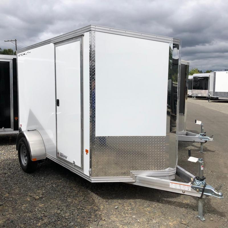 2019 Alcom-Stealth C6X12SA-IF Enclosed Cargo Trailer