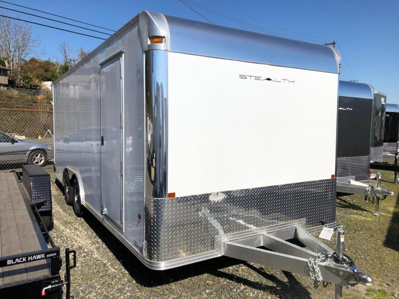 Alcom-Stealth C8X20SCH-IF Car / Racing Trailer