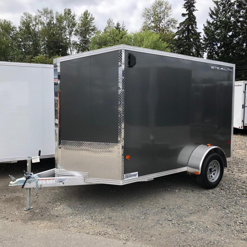 Alcom-Stealth 6' X 10' V-Front Stealth Cargo Enclosed Cargo Trailer