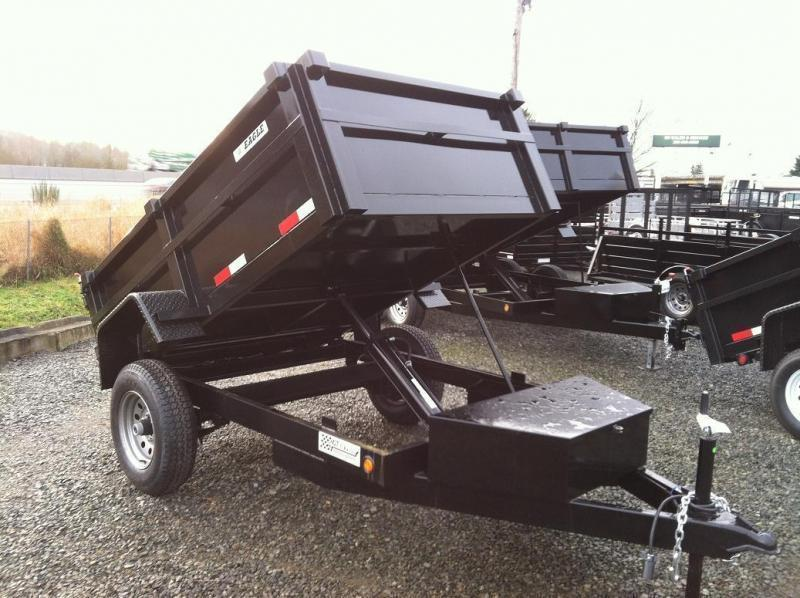 2020 Eagle Trailer 5' x 8' Eagle Single Axle Dump Eagle Dump Trailer