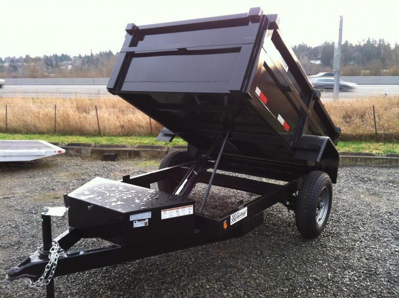 2020 Eagle Trailer 5' x 8' Eagle Single Axle Dump Eagle Dump Trailer
