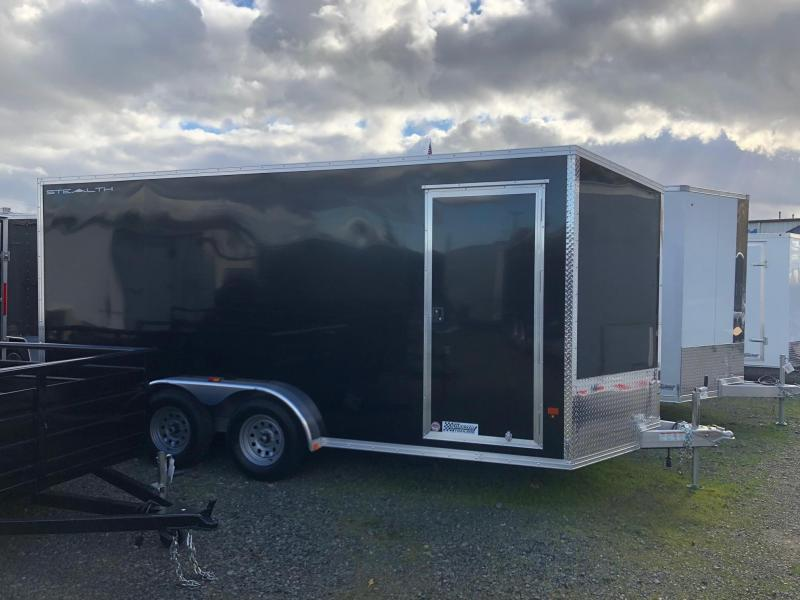 2020 Alcom-Stealth 7.5' X 16' Stealth Enclosed Cargo Trailer