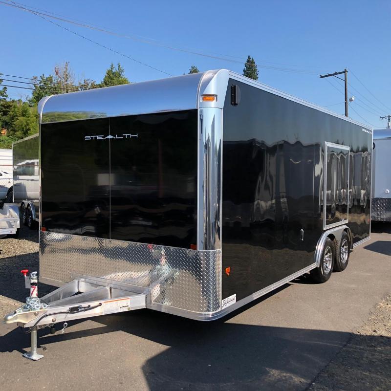 Alcom-Stealth C8X20SCH-IF Car / Racing Trailer
