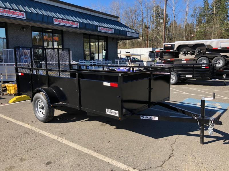 2020 Eagle Trailer 6' X 12' FU612SA Utility Trailer
