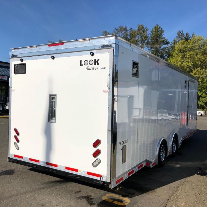 2019 Look Trailers PREMIER RACE TRAILER Car / Racing Trailer