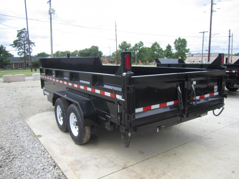 2019 Sure-Trac 82 IN X 16 LP 14K Telescopic Dump