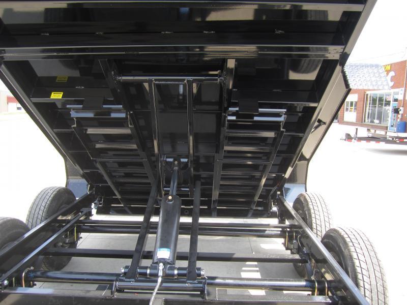 Sure-Trac 82 IN X 12 LProfile Scissor Dump 12K