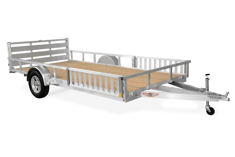 2020 H and H Trailer ATV 8.5(82)X16 TANDEM ALUM RAILSIDE ATV 7K