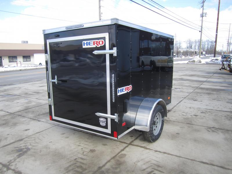 2020 Bravo Trailers 5'X8' SWING DOOR Enclosed Cargo Trailer