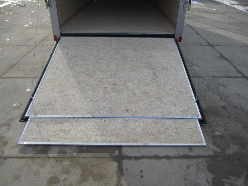 2020 Bravo Trailers 7'X16' RAMP DOOR Enclosed Cargo Trailer