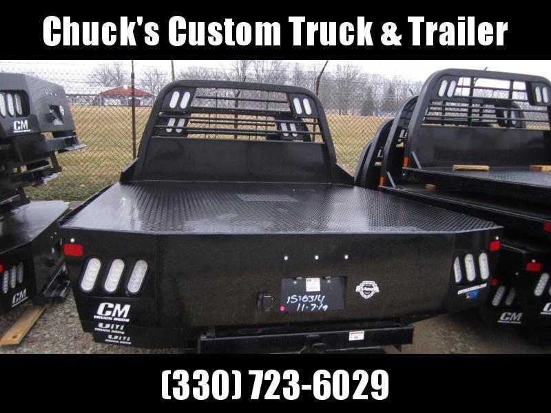 "2020 CM Truck Beds RD FLATBED 8'6""/97/38 Flatbed Trailer"