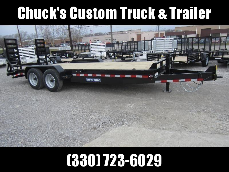 Sure-Trac 7 x 20 Equipment Trailer  16k