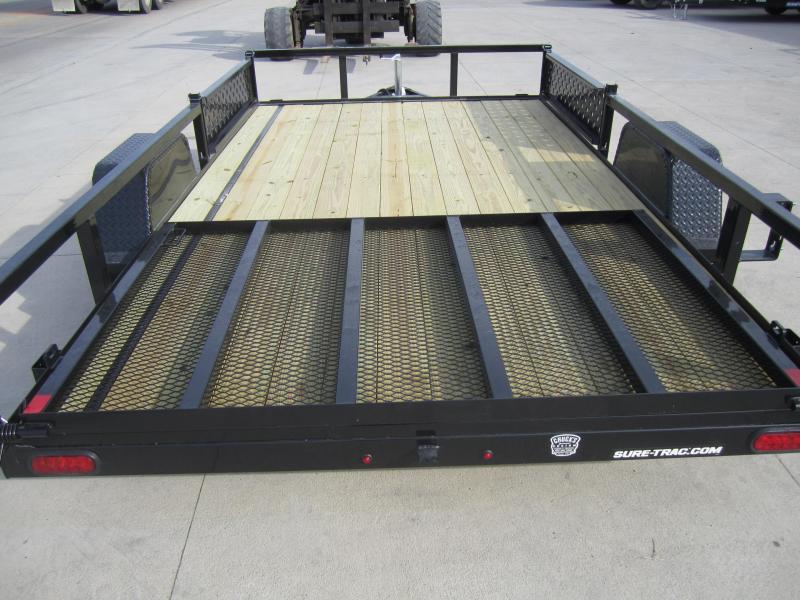 2020 Sure-Trac 7 X 12 Tube Top ATV  3K Idler