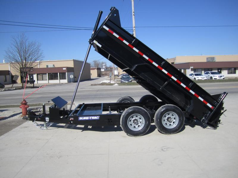 2020 Sure-Trac 82 IN X 12 LProfile Telescopic Dump 12K