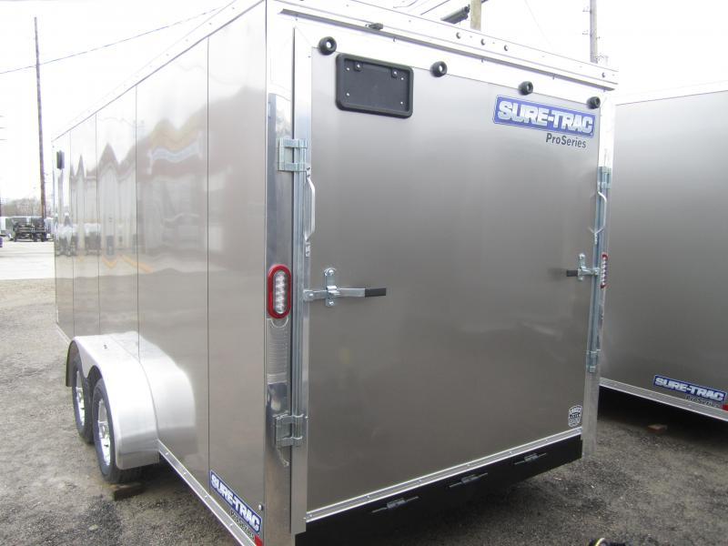 2019 Sure-Trac 7 x 18 Pro Series Wedge Cargo TA 7K