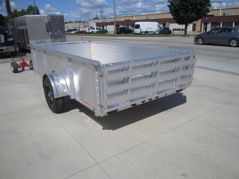 """2020 Primo 6'X12' ALL ALUMINUM 30"""" HIGH SIDES Utility Trailer"""