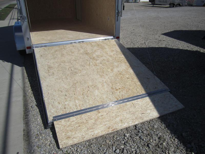 2020 Aluminum Trailer Company 7X14 ATC RAMP DOOR Enclosed Cargo Trailer
