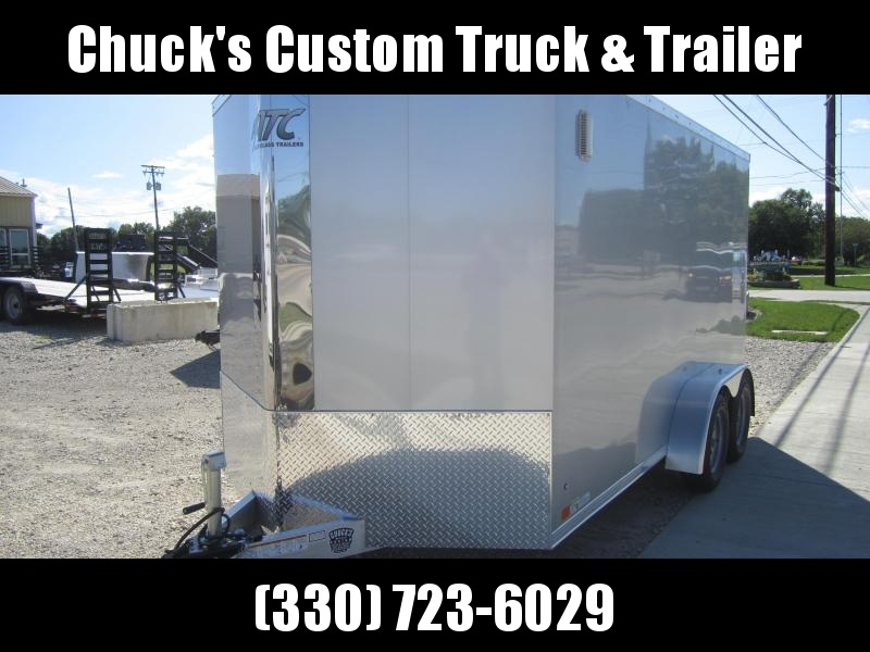 2020 Aluminum Trailer Company 7X14 ATC RAMP DOOR Enclosed Cargo Trailer