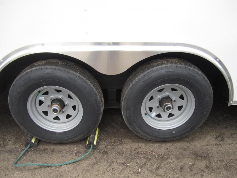 2020 Sure-Trac 8.5 x 20 Enclosed Wedge Car Hauler  Tand