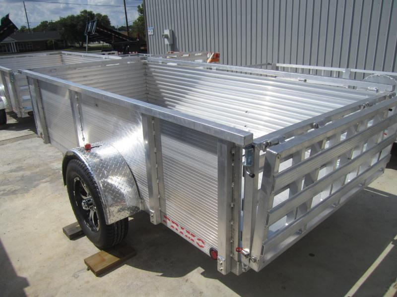 """2020 Primo 5'X10' ALL ALUMINUM 30"""" HIGH SIDE Utility Trailer"""