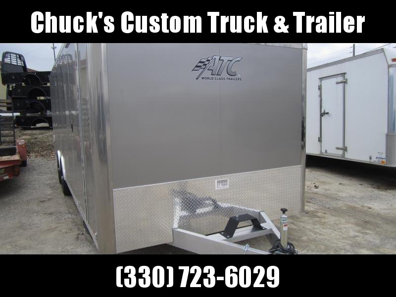 2019 Aluminum Trailer Company  Enclosed Car Trailer