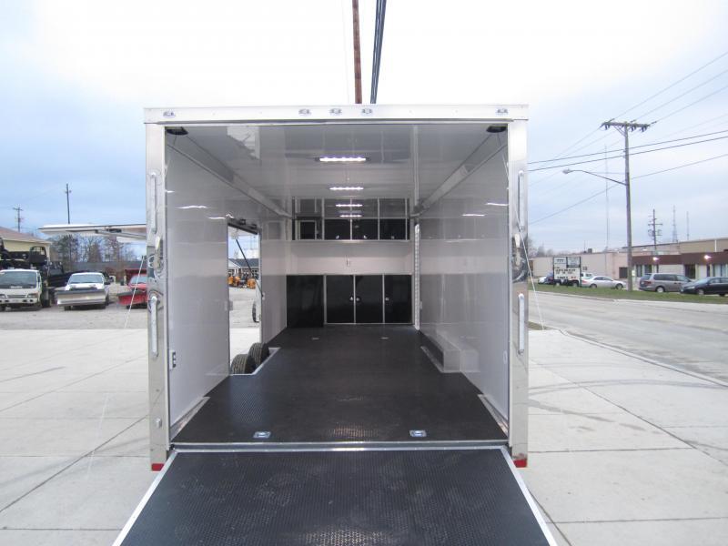 2019 ATC 8.5X28 ATC ALUMINUM QUEST CAR HAULER CH305 Enclosed Cargo Trailer