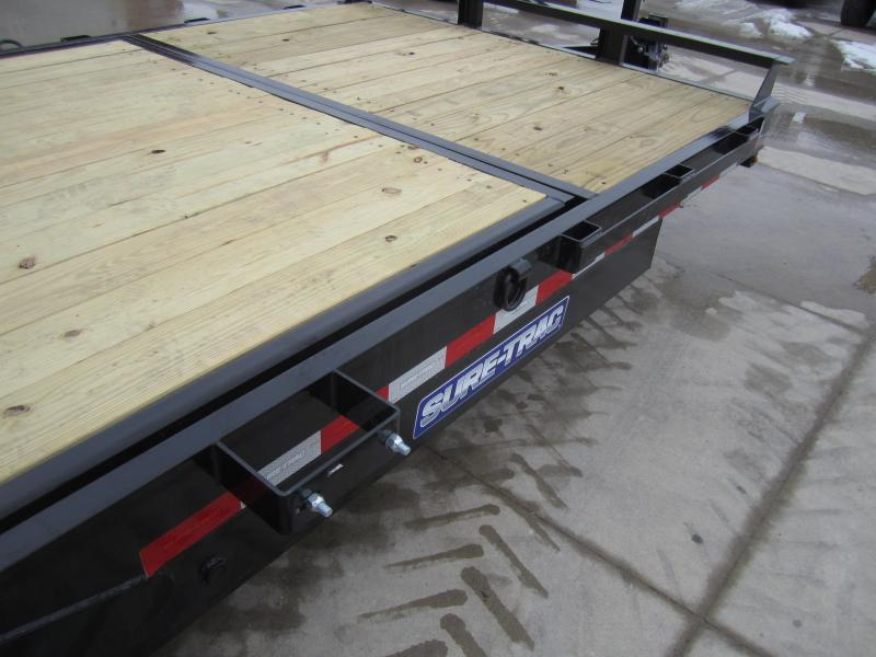 Sure-Trac 7 X 16 + 4 Tilt Bed Equipment  14K