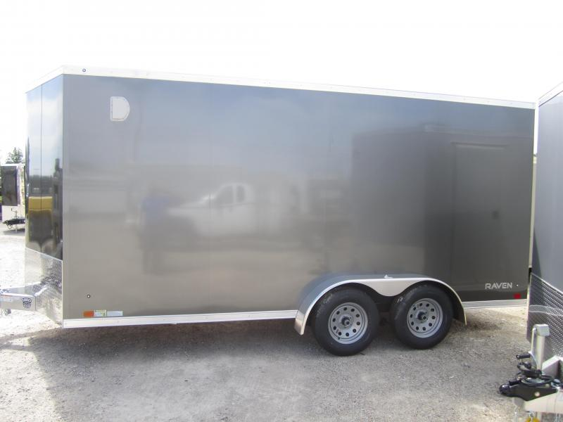 2020 Aluminum Trailer Company 7X16 ATC RAMP DOOR Enclosed Cargo Trailer