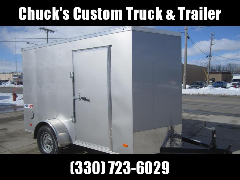 2020 Bravo Trailers 6'X10' HERO RAMP DOOR Enclosed Cargo Trailer