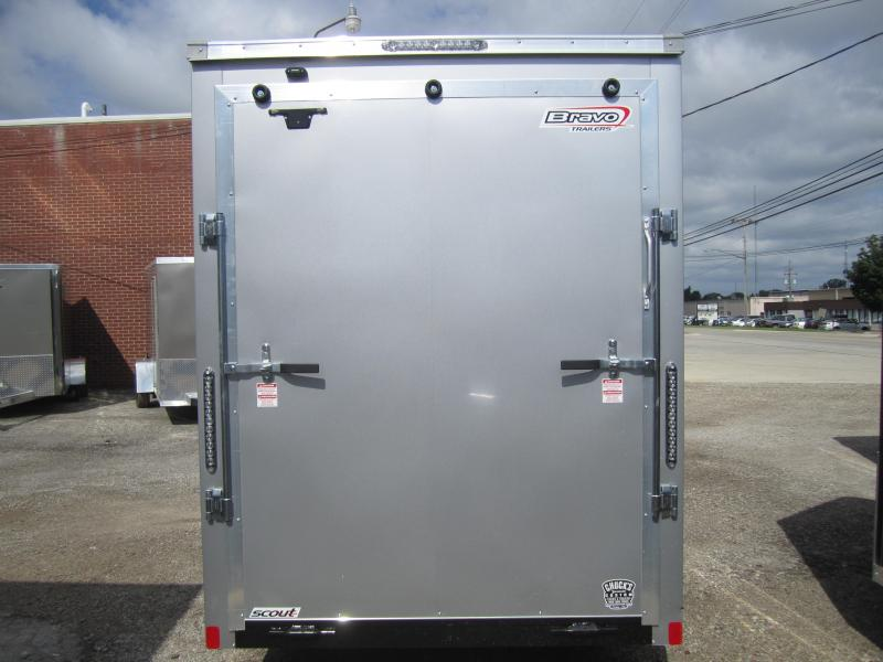 2020 Bravo Trailers 6'X12' SCOUT SILVER 7'RAMP DOOR Enclosed Cargo Trailer