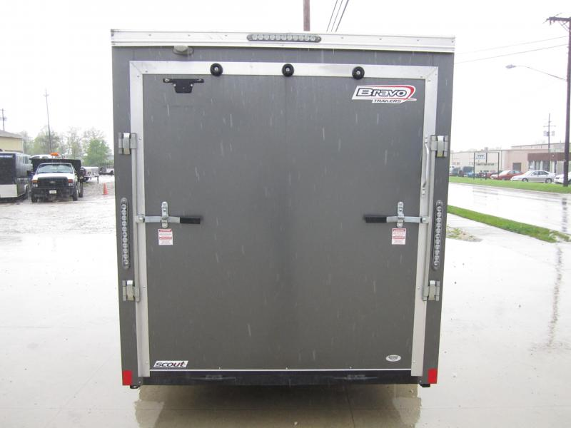 2016 Bravo Trailers 6'X12' ENCLOSED CARGO USED 2016 Enclosed Cargo Trailer