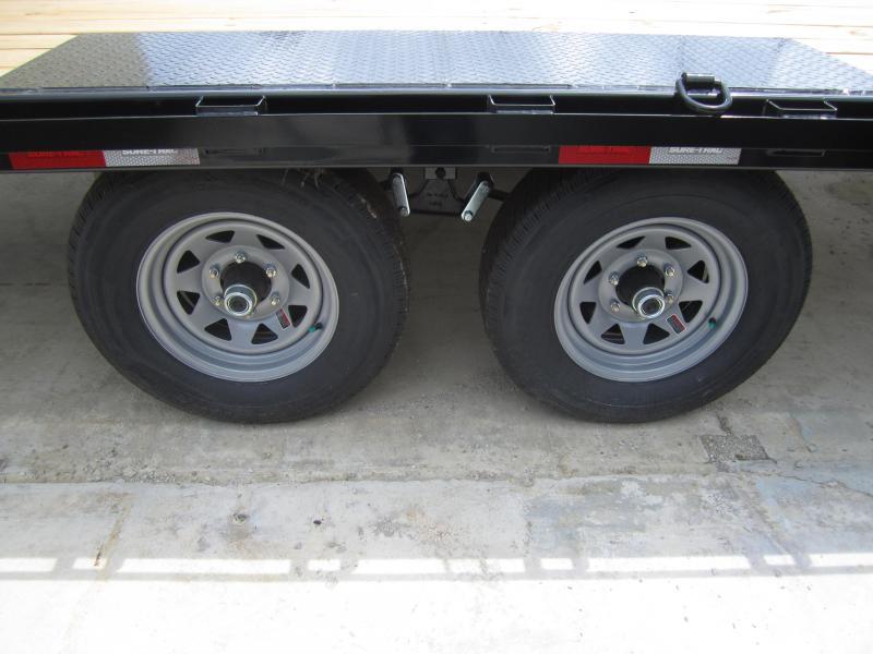 2019 Sure-Trac 8.5 X 20 Flat Deck Deckover  10K